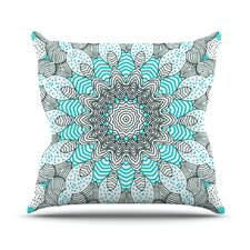Dots and Stripes Outdoor Throw Pillow