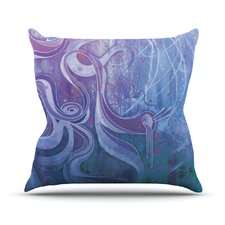 Electric Dreams by Mat Miller Outdoor Throw Pillow