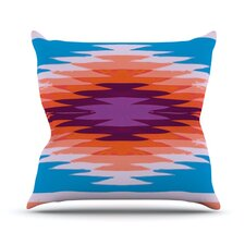Surf Lovin Hawaii by Nika Martinez Outdoor Throw Pillow