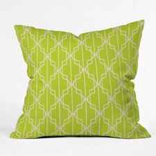 Mary Beth Freet Trellice Indoor outdoor Throw Pillow
