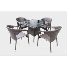 Markowitz 5 Piece Dining Set
