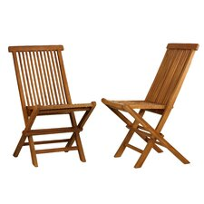 Vega Folding Dining Side Chair (Set of 2)