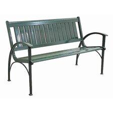 Layla Cast Aluminum Park Bench