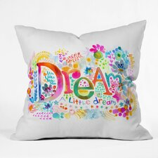 Syden Dream A Little Outdoor Throw Pillow