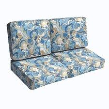 Betty Outdoor Loveseat Cushion