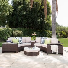 Daniela 8 Piece Sectional Seating Group with Ice Bucket Ottoman