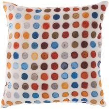 Kelston Surrounded by Circles Outdoor Throw Pillow