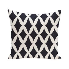 Keshawn Geometric Print Outdoor Pillow
