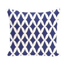 Comparison Keshawn Geometric Print Outdoor Pillow