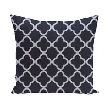 Chesterfield Geometric Print Outdoor Pillow
