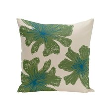 Modern Odenton Floral Outdoor Throw Pillow