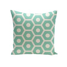 Elverton Geometric Decorative Outdoor Pillow