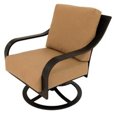 Hamilton Spring Swivel Rocking Chair with Cushions