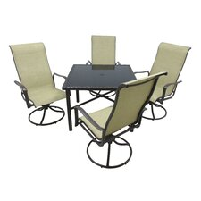 Herry Up Marco 5 Piece Dining Set