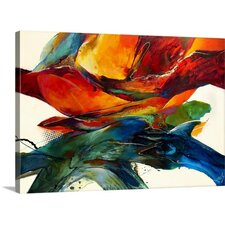 Opposites Attract by Jonas Gerard Framed on Canvas