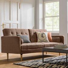 Gaius 3 Seater Clic Clac Sofa Bed