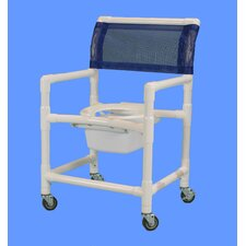 Wide Shower Commode Chair