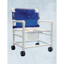 Extra Wide Commode Shower Chair