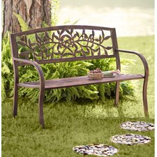 Tuscany Iron Garden Bench