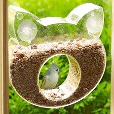 Cat Shaped One Way Decorative Bird Feeder