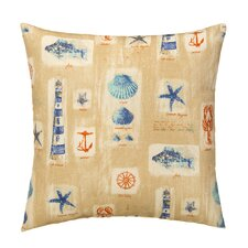 Cape Cod Outdoor Throw Pillow