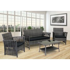 Manhattan Beach 4 Piece Deep Seating Group