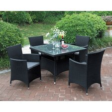 Best Choices 5 Piece Dining Set with Cushions