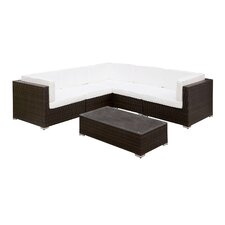 Lydia 2 Piece Deep Seating Group with Cushion