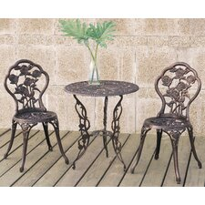 Diamond 3 Piece Bistro Set