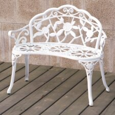 Cait Metal Garden Bench