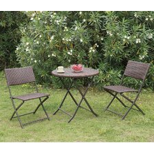 Braemar Outdoor 3 Piece Bistro Set