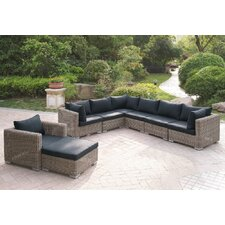 Harvey 8 Piece Patio Sectional Set II with Cushions