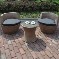 Bentley 3 Piece Deep Seating Group with Cushion