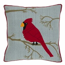 Cardinal Indoor/Outdoor Throw Pillow