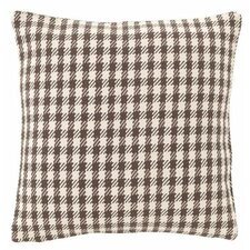 Houndstooth Indoor/Outdoor Throw Pillow