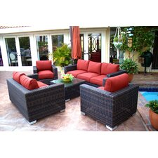 Madison 5 Piece Deep Seating Group with Cushion