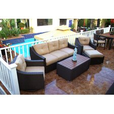 Tampa 5 Piece Deep Seating Group with Cushion