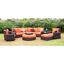 Serenity 8 Piece Deep Seating Group with Cushion
