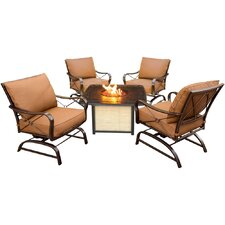 Bradford 5 Piece Deep Seating Group with Cushion