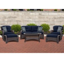 Corolla 6 Piece Deep Seating Group with Cushion