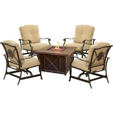 Bargain Bradford 5 Piece Deep Seating Group with Cushion