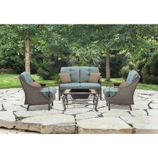 Carlisle 4 Piece Deep Seating Group with Cushion