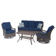 Coupon Merritt 4 Piece Deep Seating Group with Cushion