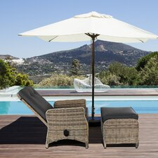 Modern Contemporary Outdoor Pool Patio Furniture Lounge Chair