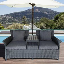 Outdoor Furniture Complete 3 Piece Deep Seating Group
