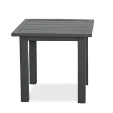 Chevron Slats Side Table