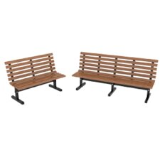 Today Only Sale Plastic Park Bench