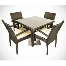 5 Piece Dinning Set with Cushions