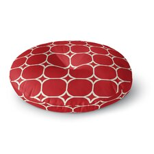 Holiday Geo Floor Pillow