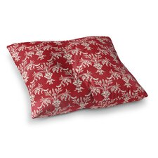 Christmas in Plaid Floor Pillow